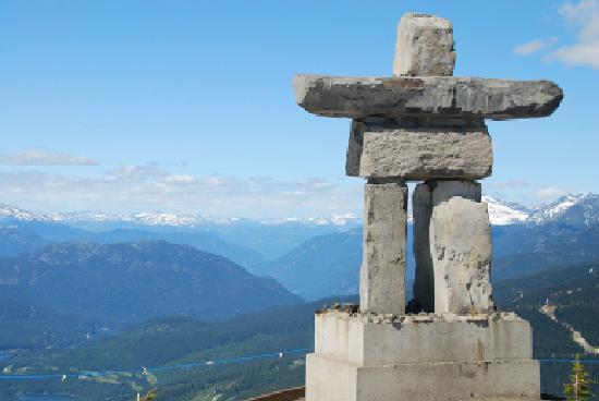 Nita Lake Lodge : View from Whistler Peak