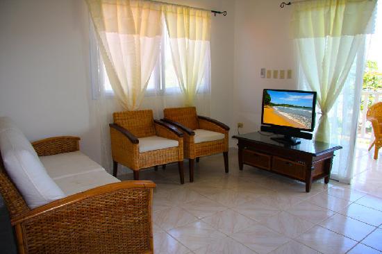 Jardines Vista del Mar Condos: Living Area Deluxe condo