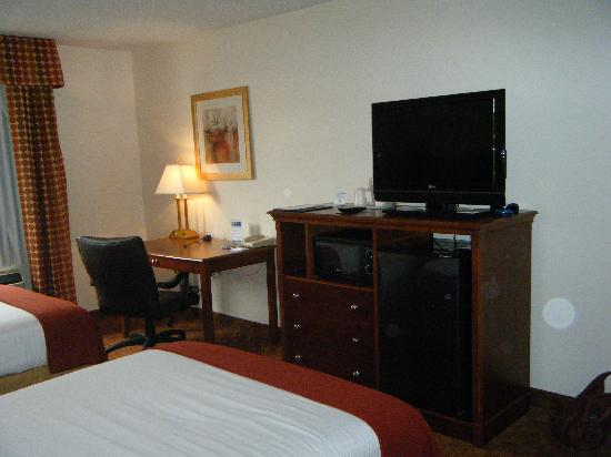 Holiday Inn Express Murrysville/Delmont: Nice TV and work area