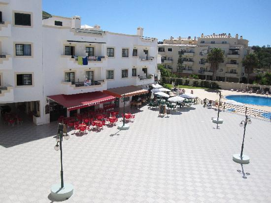 Bars below in the complex - Picture of Dunas do Alvor Apartments ...