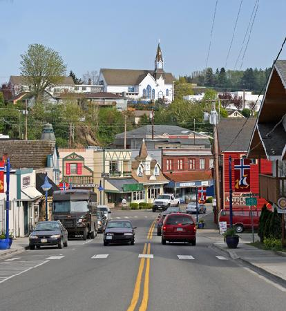 Kitsap Tours : Downtown Poulsbo, Washington