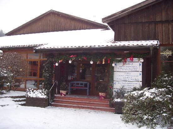 Aparthotel Frankenwald: Haupteingang