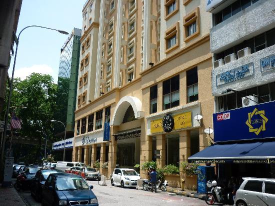 Prescott Hotel Kuala Lumpur Medan Tuanku Front