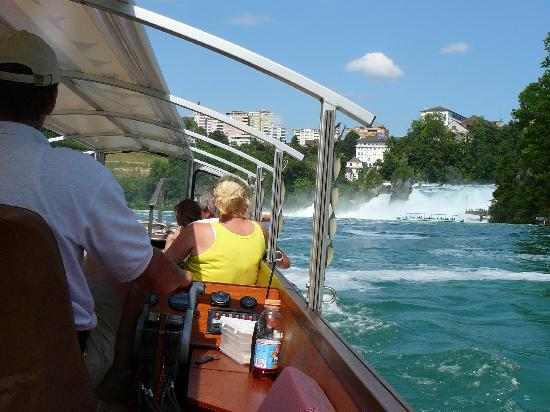 Rheinfall : Boat trip