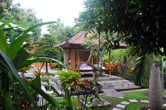 Kaliasem, Indonesia: The lovely garden