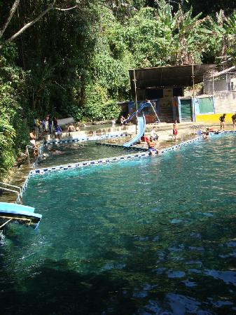 Concepcion de Ataco, El Salvador: swimming pool from natural mountain spring water