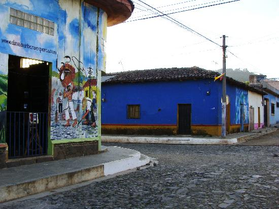 Concepcion de Ataco, Сальвадор: cobble stone streets in Ataco
