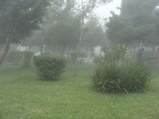 Hotel Alicante Montana: Fog and chilly weather in Alicante Montaña Hotel