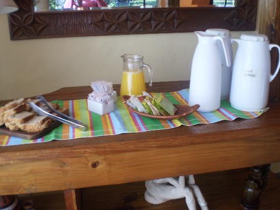 La Soñada: Desayuno