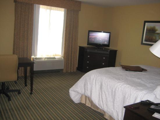 Hampton Inn & Suites Thousand Oaks: There is a lot of space in the room.