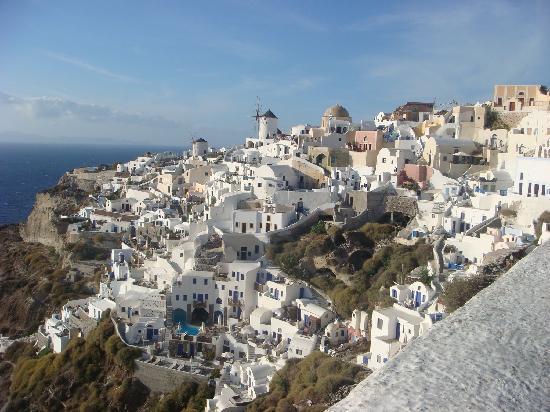 Oia, Grecia: イアの町並み