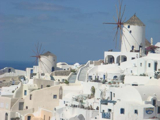 أويا, اليونان: 風車