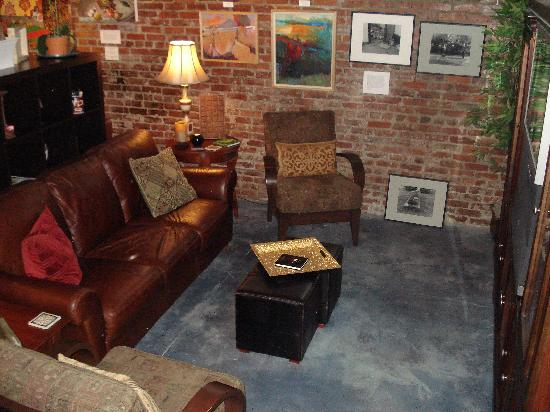 Three Layers Cafe and Coffeehouse: Quiet corners to read, or browse on your laptop