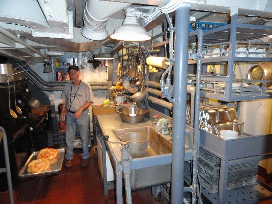 Omaha, NE: Ship interior