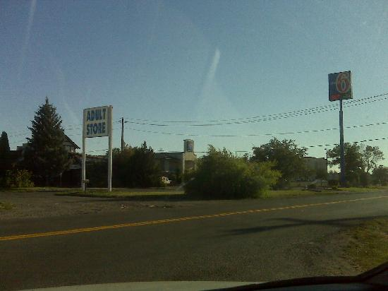 Motel 6 Billings - South: Easy access to the Adult Store!