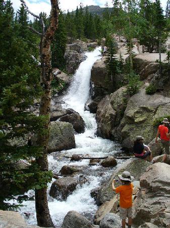 Estes Park, CO: Haiyaha Falls, RMNP