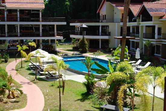 Anjungan Beach Resort & Spa: View From balcony