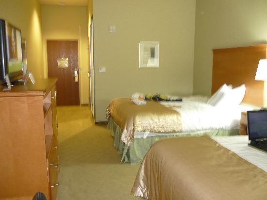 Super 8 Savannah: notre chambre