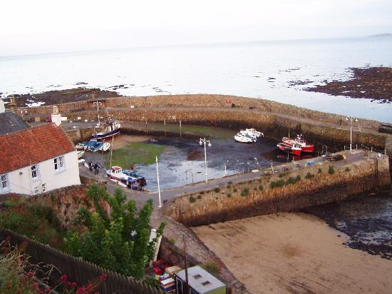 Crail's nice port with low tide