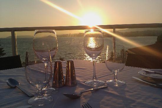 Le Meridien Lav Split: Evening dinner at the main hotel restaurant