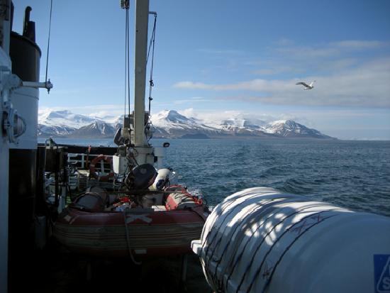Pyramiden: Herrliche Fahrt auf dem MS Langoysund