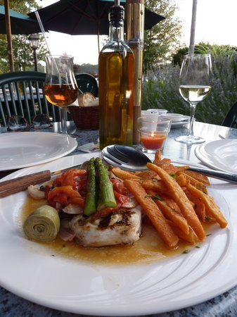 Fresh Grilled Swordfish:Touch of Venice