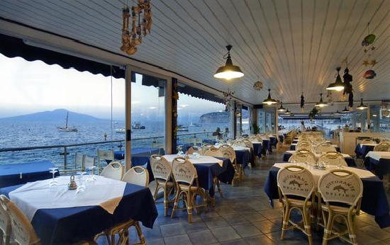 Sea view from the restaurant picture of ristorante bagni delfino