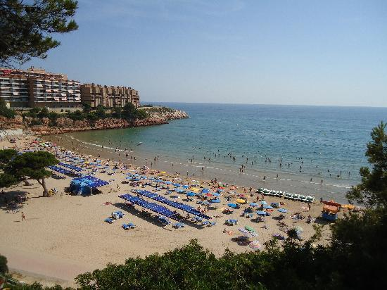 4R Salou Park Resort II: The Beach at the yop of the hill
