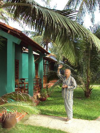 Hiep Hoa Resort: Vue de notre bungalow