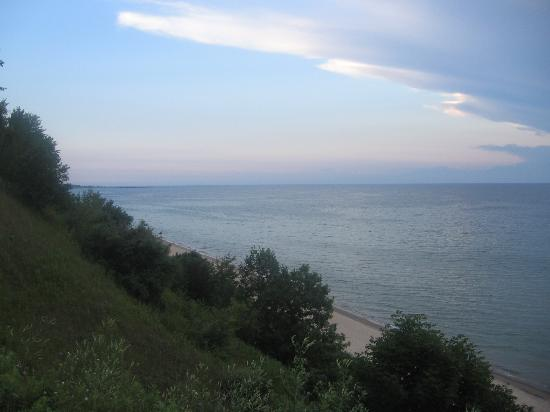 Orchard Beach State Park: view from camp