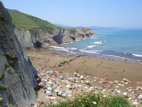 Zumaia, Hiszpania: View from Zelai patio