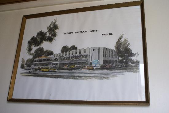 Silver Springs Hotel: Tableau de l'hôtel dans les couloirs de l'hôtel