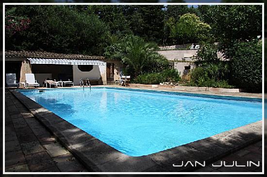 Villa Le Grand Bleu : Zwembad