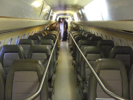 IWM Duxford: Concorde inside
