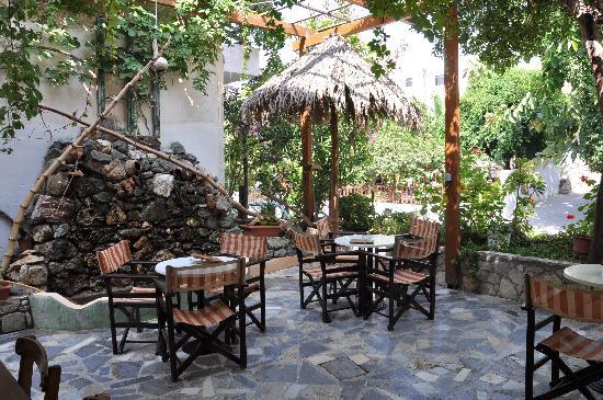 Hotel Sofia: Terrace