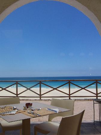 IBEROSTAR Club Boa Vista: Terrasse des Hotelrestaurants