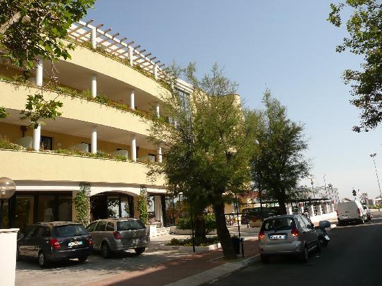 Park Hotel Kursaal: la rue d'accès