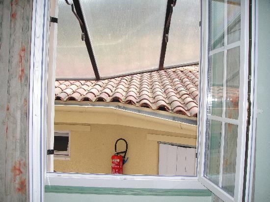 Hôtel de la Pagézie : la vue de la chambre