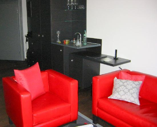 niXe Hotel: Sitzecke