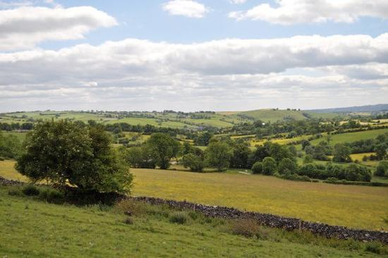 Swiers Farm House: View over Brassington