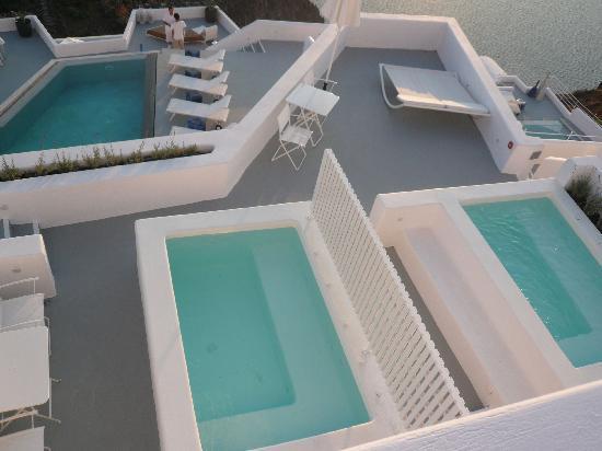 Grace Santorini Hotel: hotel roooms