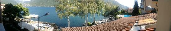 Crotto del Misto: vue de la terrasse en panoramique