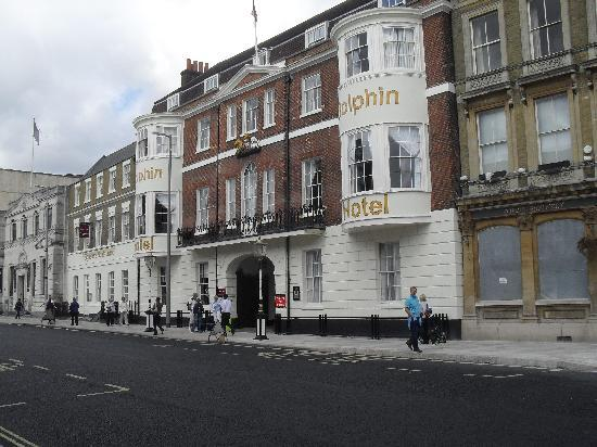 Mercure Southampton Centre Dolphin: front of hotel