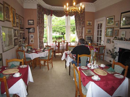 Craigelachie Hotel: the dining room is quite special