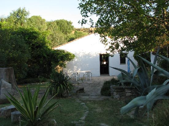 Cortijo Roman: Bungalow patio