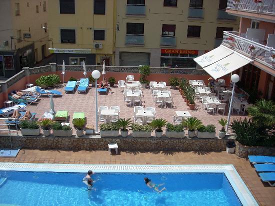 Aqua Hotel Bertran Park: VUE DE NOTRE CHAMBRE