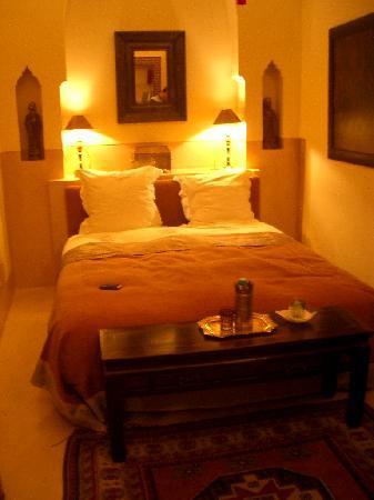 bedroom at riad camilia