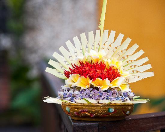 Hotel Tugu Bali : Offering Made on the Premises