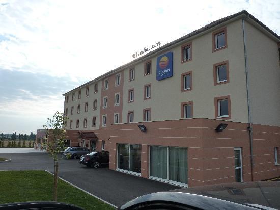 Comfort Hotel Dijon Sud: Great place!