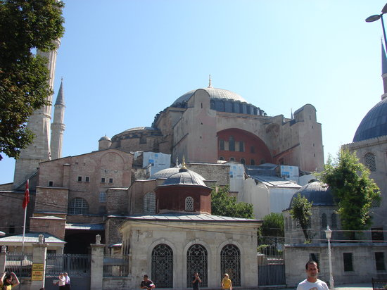 Raymond Blue Hotel: The beautiful Hagia Sophia
